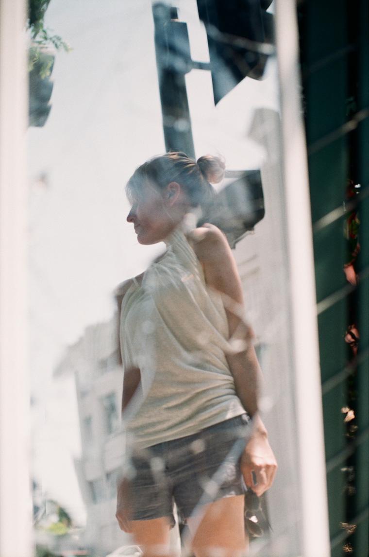 andria in a broken mirror
