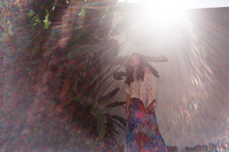 priscilla avila behind lens flare